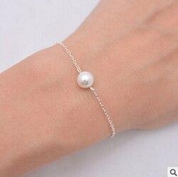 Sl 004 2018 acessórios de moda bonita imitação pérola feminino natural pérola jóias acessórios do casamento feminino mais bonito