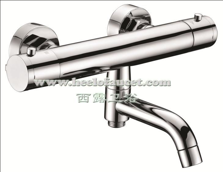 Wall mounted thermostatic shower faucet bathroom bath mixer bathtub faucets  with diverter spout chrome torneira sanitaryPopular Bath Shower Mixer Diverter Buy Cheap Bath Shower Mixer  . Wall Mount Tub Faucet With Shower Diverter. Home Design Ideas