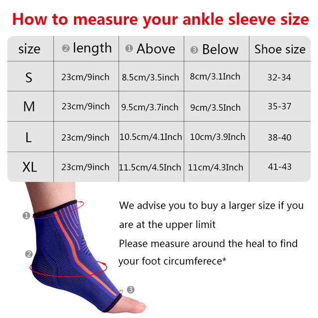 SKDK Sport Ankle Support Protector Compression Ankle Brace Cotton Comfort Anti Sprain Basketball Football Foot Safety 1 Piece
