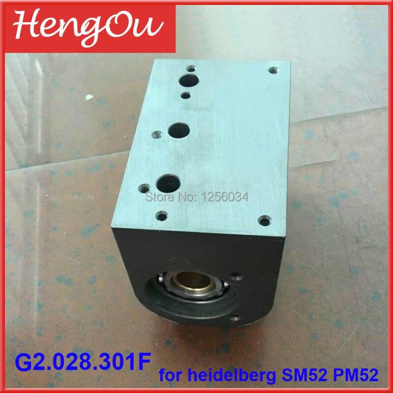 1 pair G2.028.301F feeder valve for heidelberg SM52 PM52 machine