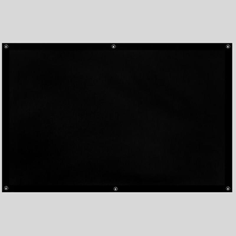 Thinyou 150inch 16: 9 projektor zaslon dodelan rob robnik preprost - Domači avdio in video - Fotografija 3
