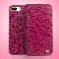 Qialino本革電話ケース用アップルiphone用7ファッション高級女性フリップカバー用iphone 7プラスのため4.7/5.5インチ