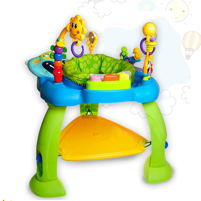 9ed47c021 Free Shipping Baby Jumper First Steps Jumperoo Senses Bounce Around ...