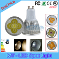 30pcs/lot DHL lampada led 9W 12W 15W led lamp GU10 dimmable led bulbs 85-265V led spot light 2 years warranty free shipping