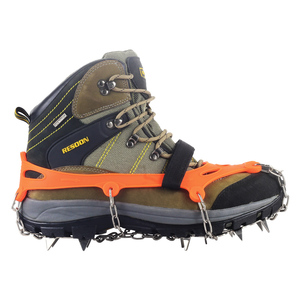 Image 4 - YUEDGE pinces à neige universelles 12 dents antidérapantes, pinces à neige, pinces pour chaussures, raki na buty