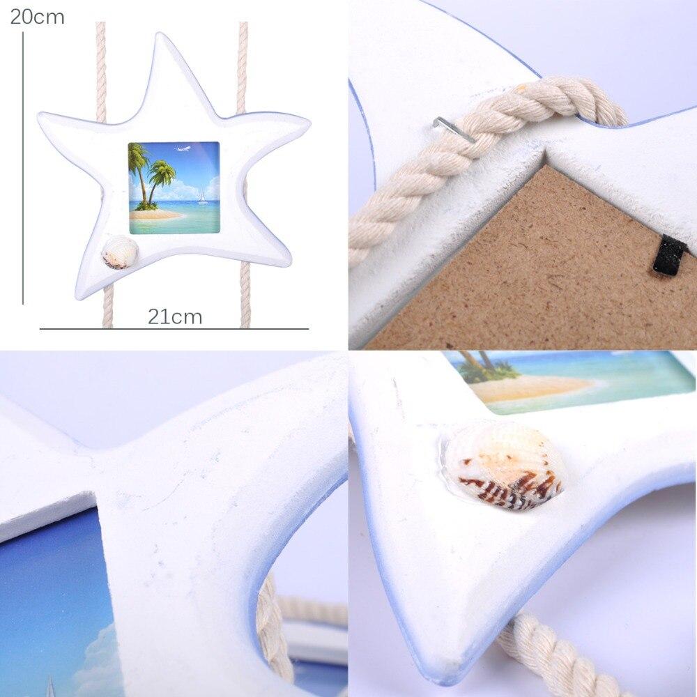 Starfish Shell Fisch 3 Bilderrahmen für bild gesetzt Mediterranen ...