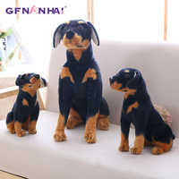 1pc 30/40cm Simulation Dog Plush toy Creative Realistic Animal Sitting Dog Dolls Stuffed Soft Toys for Children Birthday Gift