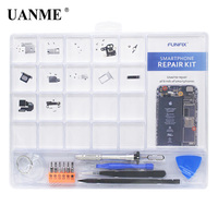 UANME Smartphone Repair   Tools   Kit Anti Static Project Tray Storage Sort Organize Screws Parts Screwdriver Set Pry Opening   Tool