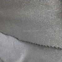 { Stretchable }100% SILVER FIBER FABRIC Radiation protection Material Silver Conductive Fabric KSILVER1#