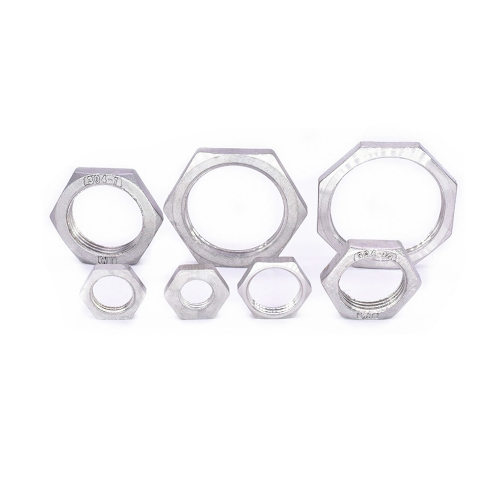 Pipe Fitting Stainless Steel Ss 304 Hex Nuts Hex Nuts 1/8