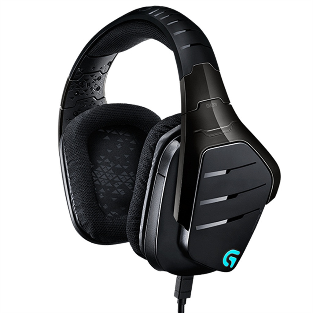 100% Original Logitech G633 RGB 7.1 Wired Surround Sound Gaming Headphones Microphone Headset Auriculares Con Cable 19Jul09 image