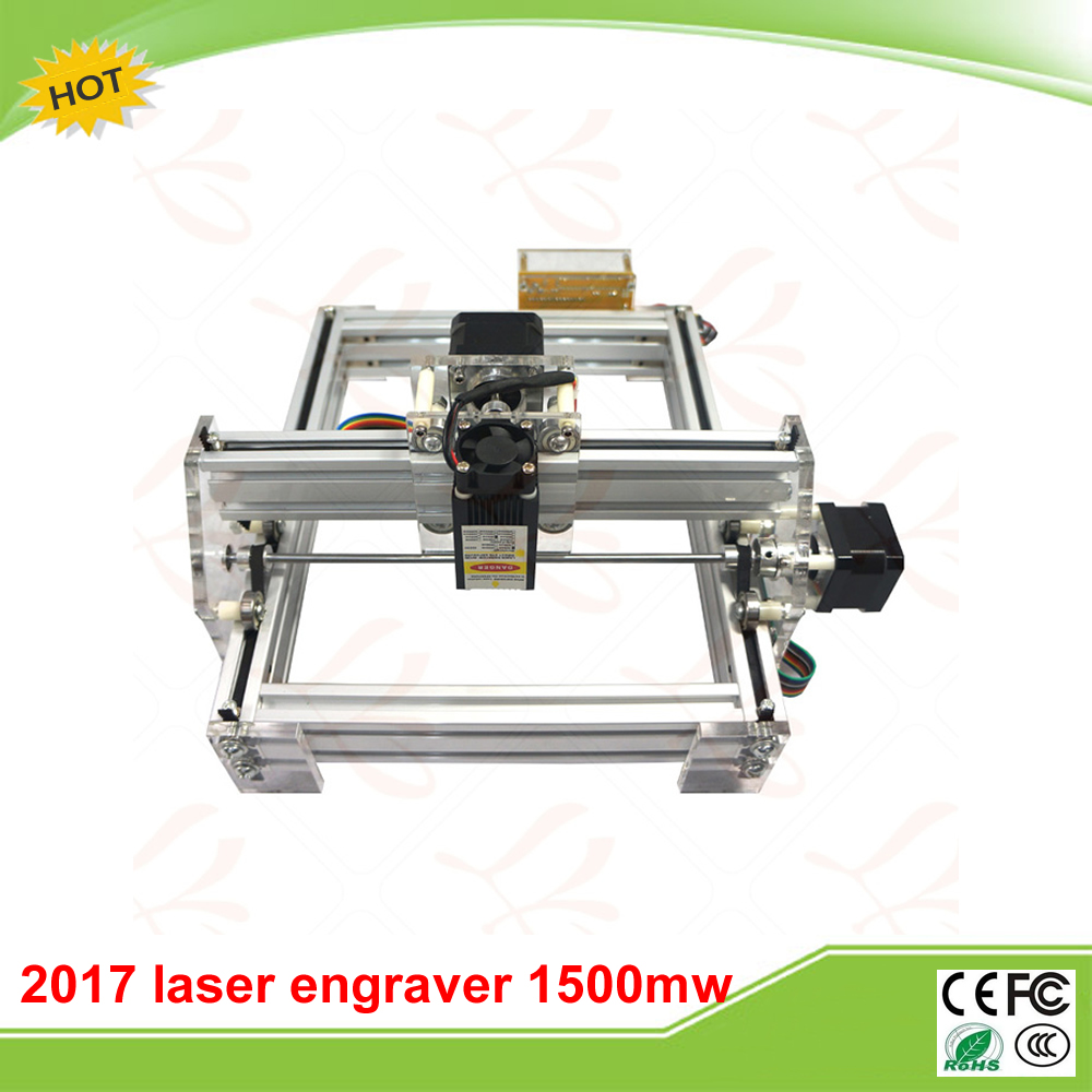 LY 2017 Laser Engraving Machine Picture CNC Printer 20*17CM 1500mw free tax to RU eur free tax cnc 6040z frame of engraving and milling machine for diy cnc router