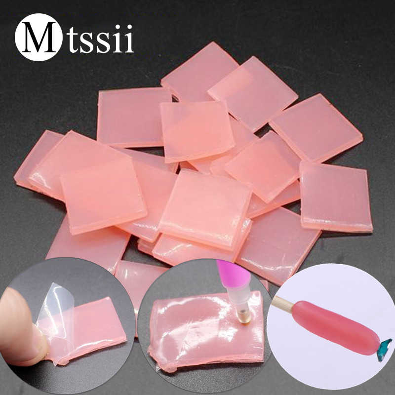 Mtssii 10 pcs/set Nail Art Adhesive Glue Nail Art Decoration Paste Glue 2018 Manicure and Pedicure Supply Nail Art Tool