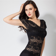 Tube tops Lace embroidered cool size female underwear summer fall spring underclothes black white sexy wearing Breathable A2