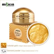 korea dark circle hydrogel eye patch 60pcs hydrolyzed collagen gold crystal gel eye mask eyemask patch for eye under patch eye