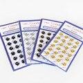 Мини-небольшие металлические кнопки пряжки в четыре цвета 6 ММ супер хорошее качество куклы одежда