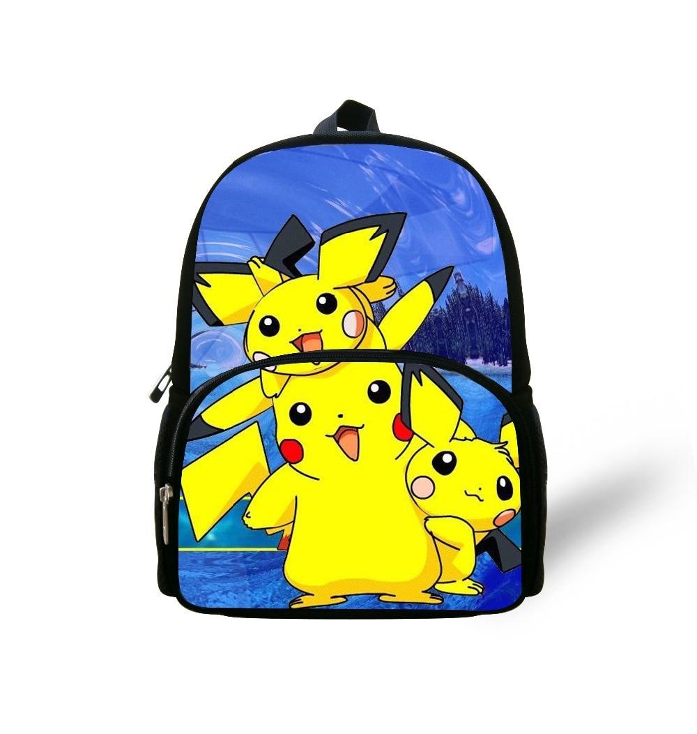 School Bags for Children 12'' New Arrival Cartoon Pokemon Cute ...