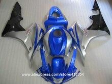 Bodywork fairing kit for Honda injection mold CBR600RR 07 08 blue silver black motorcycle fairings set CBR 600RR 2007 2008 13NT