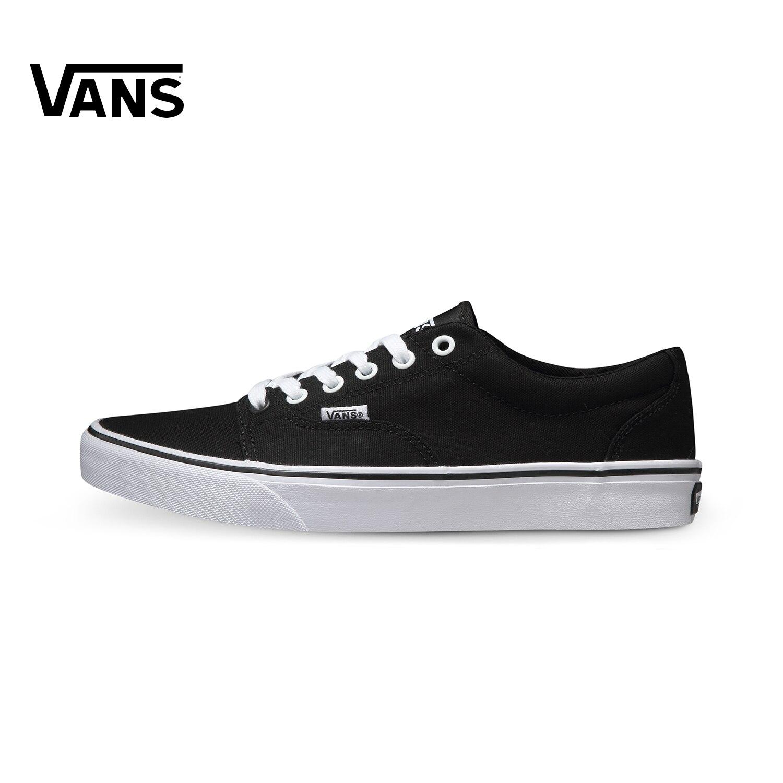 Original New Arrival Vans Men's Active Kress Low-top Skateboarding Shoes Sneakers Sport Outdoor Canvas Comfortable VN-0NLH6BT кеды vans vn 0zsnba2 vn 0zsnba2