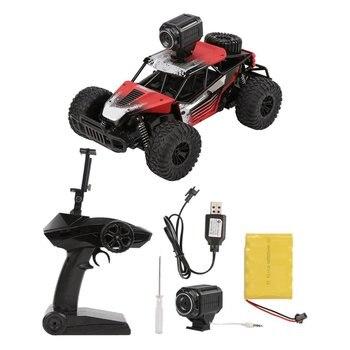 1/16 2,4G 4WD coche RC de alta velocidad con WiFi FPV Cámara 2.0MP Buggy Rock vehículo todoterreno juguete de Control remoto de juguete para niños