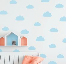 Vinyl Nursery Cloud Wall Decals Sticker Removable Kids Room Decoration Bedroom Wallpaper AY0128