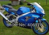 Ventas calientes, clásico ZX 9R ZX9R 98 99 completo carenado Kit de carrocería para Kawasaki Ninja ZX9R 1998 1999 luz azul motocicleta carenado kit