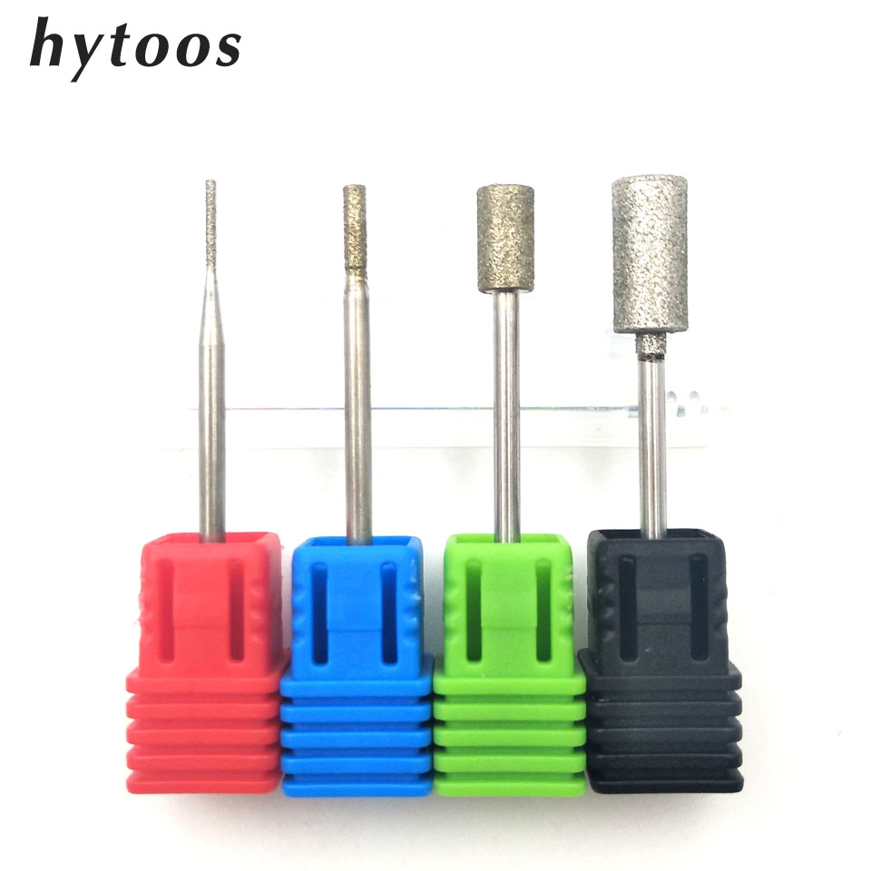 HYTOOS 5 Barrel Diamond Nail Drill Bit 3/32 Rotary Burr Manicure Cutters Electric Nail Drill Accessories Nail Mill ToolsHYTOOS 5 Barrel Diamond Nail Drill Bit 3/32 Rotary Burr Manicure Cutters Electric Nail Drill Accessories Nail Mill Tools