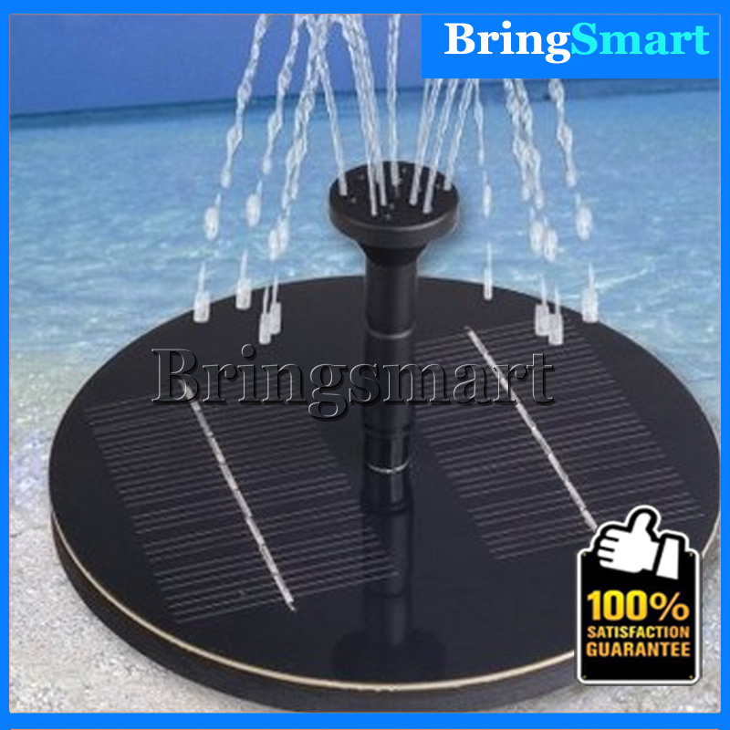Free shipping JT-160F Max flow 200L/H Mini DC Immersible Pump Brushless Solar Fountain Water Pump Landscape Fountain Pump цена 2017