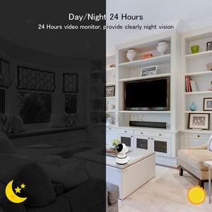Image 5 - 720P niania elektroniczna Baby Monitor wifi kamera IP Videcam dziecko Radio niania wideo elektronicznych Baba bezpieczeństwo w domu aparat dla dzieci IR dla domu telefon dla dzieci