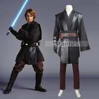 Star Wars Anakin Skywalker Cosplay Costume Star Wars Jedi Knight Darth Vader Outfit Jedi Knight Cape Halloween Custom Made