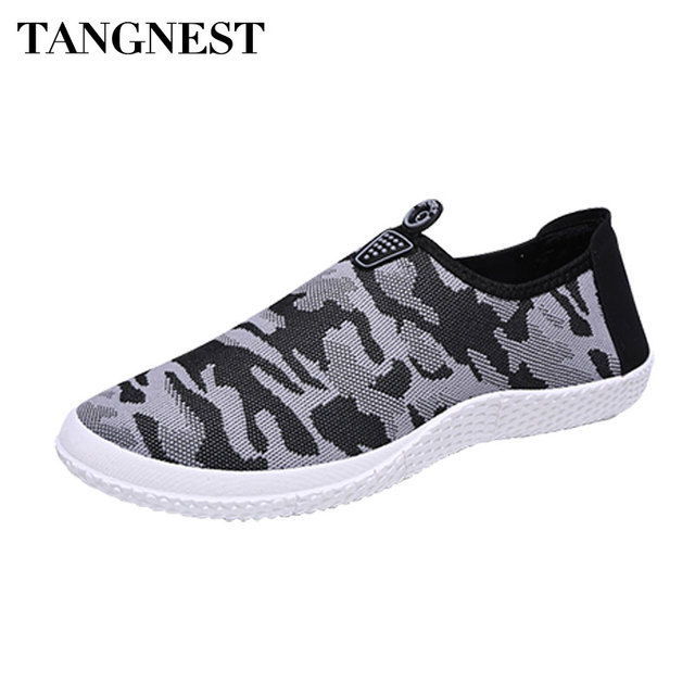 Onfly New Mens Casual Schuhe Mesh Breathable Driving Schuhe im Freien Leder Turnschuhe Wohnung Loafers Sommer...