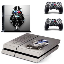 цена на Star Wars The Last Jedi PS4 Skin Sticker Decal Vinyl for Sony Playstation 4 Console and 2 Controllers PS4 Skin Sticker