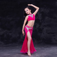 New Luxury Sexy Oriental Dance Costume Suits For Kids Children Nice High Quality Girls Belly Dancing