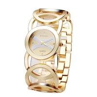 BAOSAILI Brand Luxury Crystal Gold Watches Women Ladies Quartz Wristwatches Bracelet Relogio Feminino Relojes Mujer
