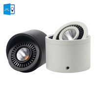COB LED Recessed Downlights Dimmable 5W 7W 9W 15W Surface Mounted LED Ceiling Lamps Spot Light