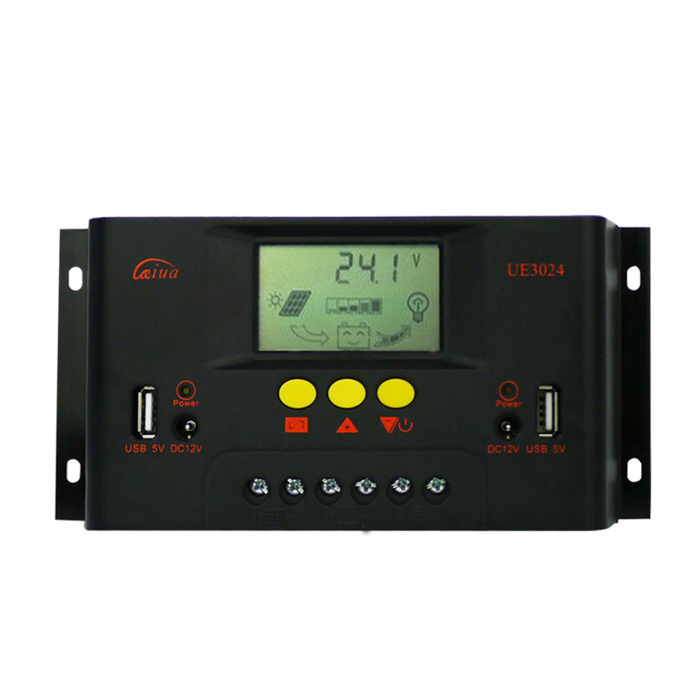 MAYLAR 30A PWM Solar Panel Charge Controller 12V 24V Auto Battery Regulator with LCD Display maylar 30a pwm solar panel charge controller 12v 24v auto battery regulator with lcd display