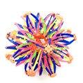 Marca 2 Tamanho 1 Pcs Funny Kids Adulto Bola Telescópica brinquedo Expansão Esfera Rainbow Flor Colorida Bola Mágica Dos Miúdos Das Crianças toys