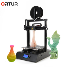 Ortur-4 Plus Size Full Metal Frame 3d Printer Platform Desktop Impresora 3d Industrial Grade High Precision 3d Drucker Kits