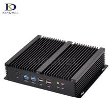 I3 4010u безвентиляторный barebone mini pc core i7 4500u windows 10 прочный ITX Корпус Встроен Промышленный Компьютер 2 LAN HDMI 6 COM неттоп