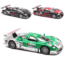1:64 Scale Kyosho Mini Nissan R390 GT1 Nismo Le mans 1997 No.23 racing diecast vehicle models auto toy cars for kid's collection(China)
