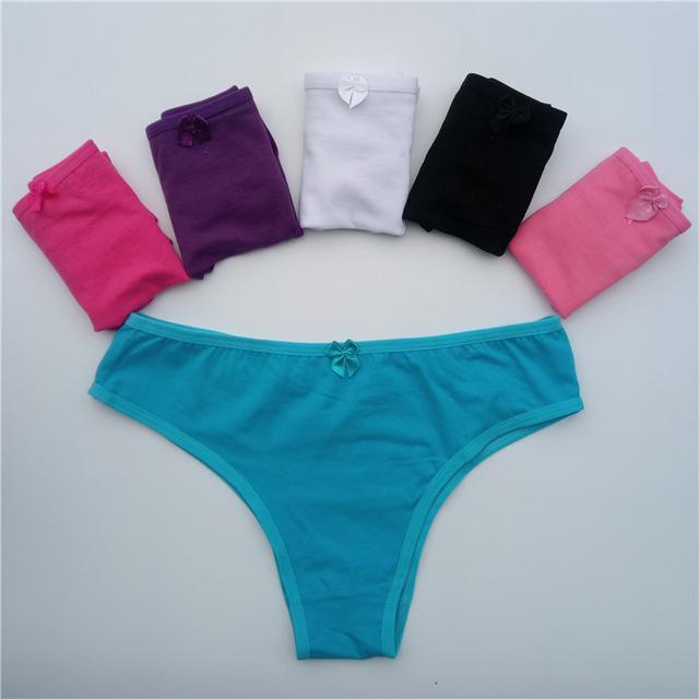 Women's cotton panties women's paragraph bikini panties