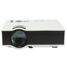 UC40 800 Lumens Full HD 1080P LCD LED Multimedia Mini Projector Home Cinema Theater Input USB AV SD HDMI IR