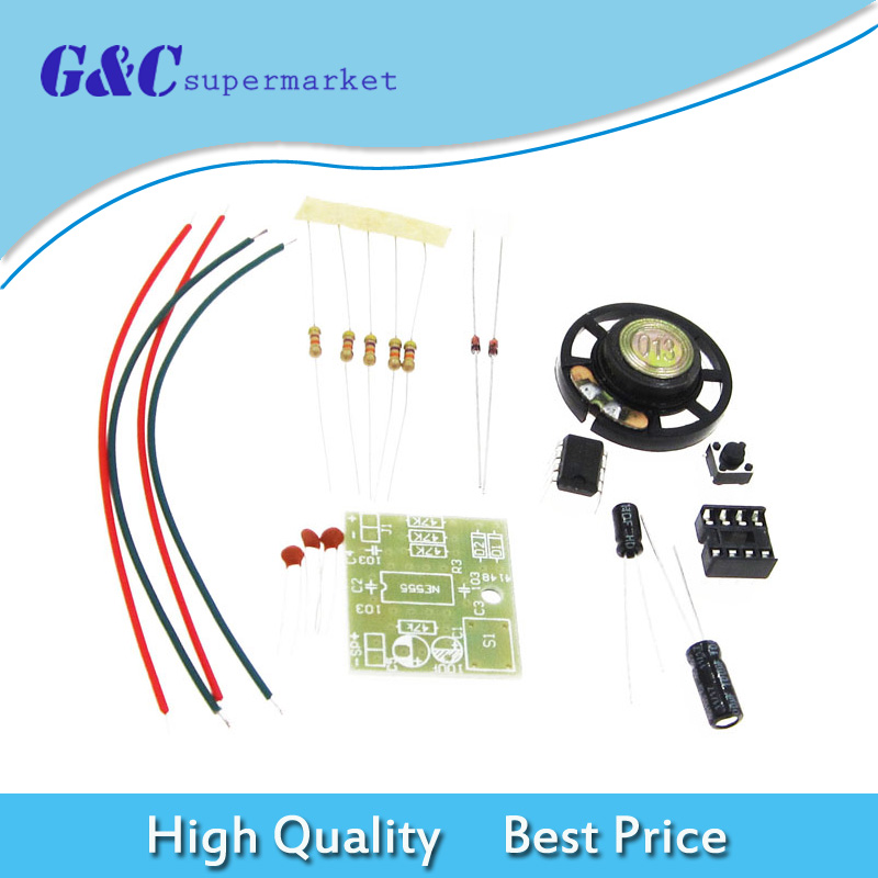 Doorbell Suite Electronic Production Door Bell NE555 Chip DIY Kit