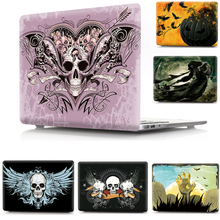 Halloween Horror Pattern Print Hard Shell Cover Case For Apple Macbook Air Pro Retina 11 12 13 15 Protective Bag Sleeve for Mac