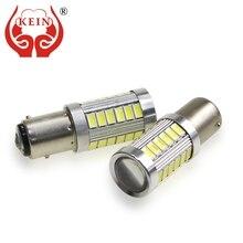 KEIN 2 pcs P21W led Ampoule P21/5 w 33SMD 1156 ba15s voiture 1157 bay15d S25 5630 atuo voiture frein de Marche Arrière Feux DRL Signal Lampe auto 12 v(China)