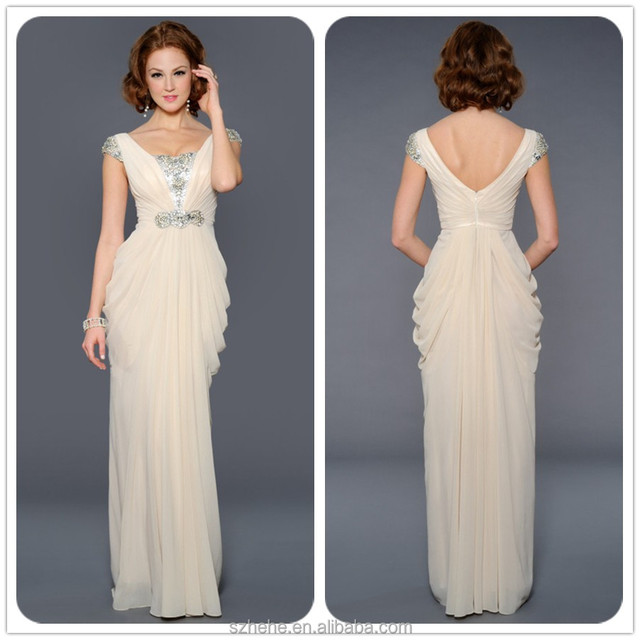 Free shipping JM.Bridals CW2170 Beautiful cap sleeve beaded formal ...