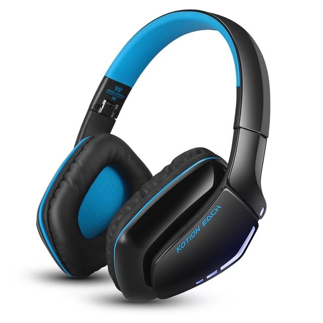 Kotion each b3506 bluetooth wireless gaming telefonema handfree dobrável melhor fone de ouvido estéreo com microfone para iphone