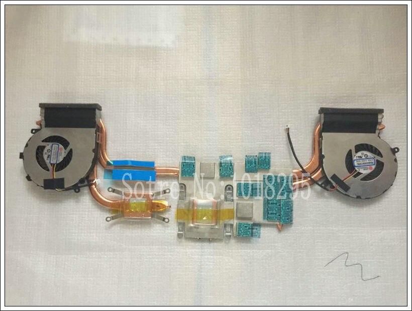 Nouveau dissipateur thermique de ventilateur de refroidissement Cpu pour MSI GE72 PAAD06015SL refroidisseur dordinateur portable radiateurs ventilateur de refroidissementNouveau dissipateur thermique de ventilateur de refroidissement Cpu pour MSI GE72 PAAD06015SL refroidisseur dordinateur portable radiateurs ventilateur de refroidissement
