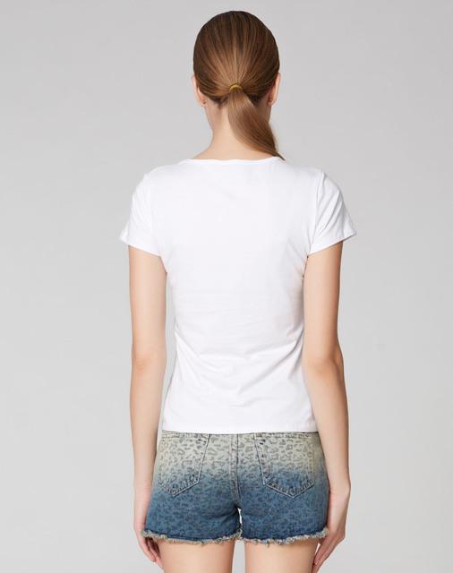2017 New Summer Hot Sale Animal Print T Shirt Lovely Harajuku Women Shirt Fashion Summer Tees For Ladies Brand Casual Tops