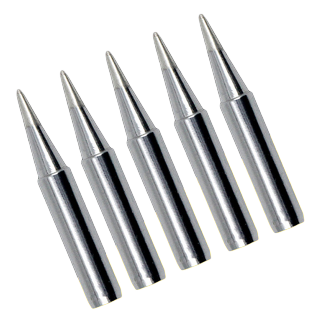 5pcs Solder Iron Tips Replacement 900m-T-B 1.2mm Point Solder Iron Tips Head For Soldering Repair Station